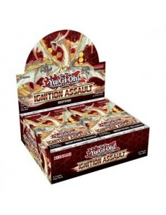 YUGIOH IGNITION ASSAULT CAJA DE SOBRES