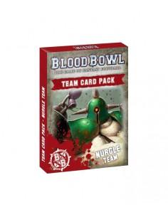 BLOOD BOWL: NURGLE TEAM CARDS (ESPAÑOL)