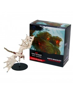 D&D RAGE OF DEMONS WHITE DRACOLICH