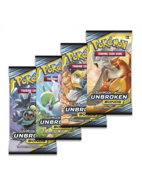 PACK PRESENTACION UNBROKEN BONDS POKEMON