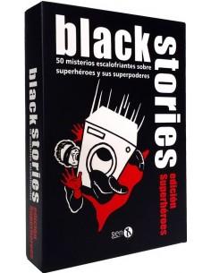 BLACK STORIES SUPERHEROES