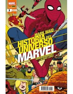 HISTORIA DEL UNIVERSO MARVEL 03 ED DELUX