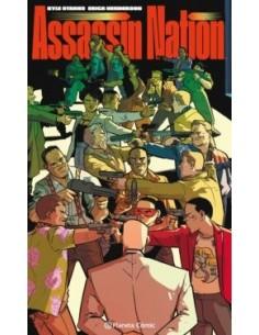 ASSASSIN NATION TOMOS 1-5