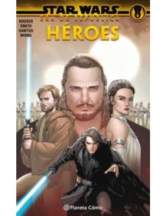 STAR WARS ERA RE LA REPUBLICA HEROES TOM