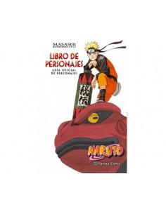 NARUTO LIBRO DE PERSONAJES