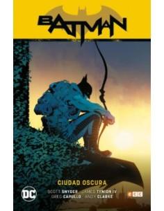 BATMAN DETECTIVE COMICS CIUDAD OSCURA