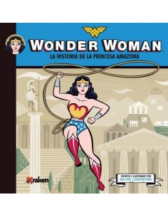 WONDER WOMAN HISTORIA PRINCESA AMAZONA